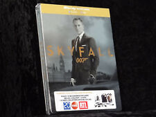 James Bond - Skyfall Steelbook [Blu-ray] / 8 Art-karten / Deutsche Tonspur / Neu