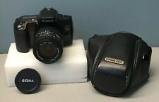 Canon EOS 10s Film Camera w/ Sigma 28-135mm Aspherical Lens and Case