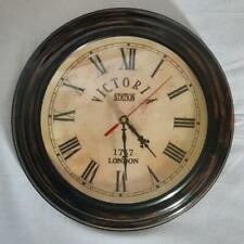 "Wooden wall clock 11""..!"