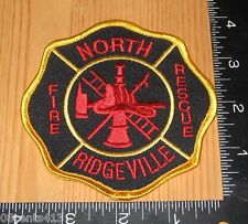 North Ridgeville Ohio Fire Rescue Department Cloth Patch Only