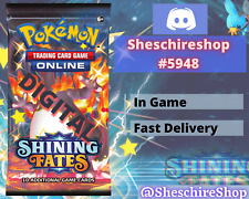 Shining Fates x 50 Pokemon In-Game Booster Send Fast TCGO PTCGO Online Code