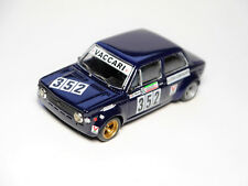 FIAT 128 gruppo gruppo Tg. 2 1975 Vaccari #352, fatto a mano handmade-TRON 1:43