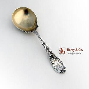 La Parisienne Serving Spoon Decorated Shoulders Sterling Reed and Barton 1902