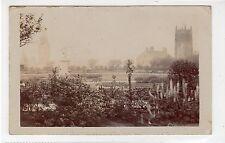 Uncaptioned postcard of a Park in Rochdale: Lancashire postcard (C25497)