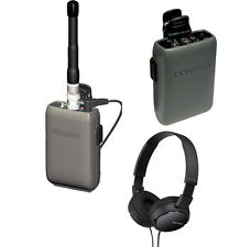 Comtek Beltpack IFB Single System Bundle: M-216 Opt P7, PR-216 & Sony Headphones