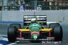 Teo Fabi Benetton B187 Grand Prix d'Australie 1987 photographie