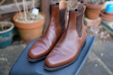 J M Weston Chelsea Boots - Brown - 7.5