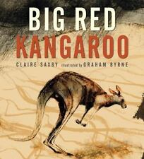 Big Red Kangaroo by Saxby, Claire