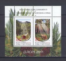TURKISH CYPRUS, EUROPA CEPT 2011, FORESTS S/S, MNH