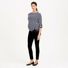 JCREW TALL MATERNITY TOOTHPICK JEAN IN PITCH BLACK WASH T31 $145 NWT STYLE 08769