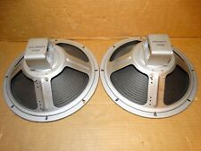"""2 x 12"""" Vintage Cleveland Speakers  *Tested*8 ohm*(2 pair available)"""