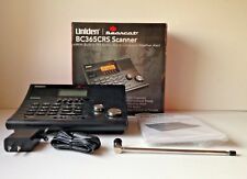 Uniden Police Scanner BC365CRS Base Radio 500 Ch FM Weather Radio Shack Whistler