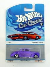 HOT WHEELS '40 FORD COUPE Cool Classics 4/30 Die-Cast Car MOC COMPLETE 2013