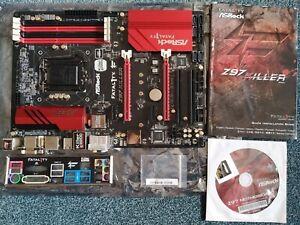 ASRock Fatal1ty Z97 Killer Mainboard mit Zubehör (Intel Z97, Killer E2200 LAN)