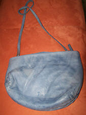 THINK Schultertasche aus Soft Nappaleder! used look in jeans