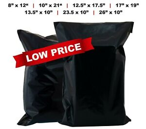 100 X ALL SIZES STRONG QUALITY POLY MAILING BAGS SELF SEAL PARCEL POSTAGE POST