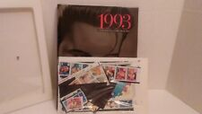 1993 US Commemorative Mint Stamp Year Set Sealed with Hardcover USPS Yearbook