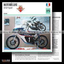#077.03 MOTOBECANE 125 GP GRAND PRIX 1976 Fiche Moto Motorcycle Card