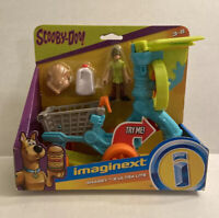 Fisher-price Imaginext Scooby-Doo Shaggy and Ultra Lite Vehicle Figure Toy Set