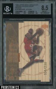 1998 Upper Deck UD Hardcourt Bronze Michael Jordan Bulls HOF /230 BGS 8.5 w/ 9.5