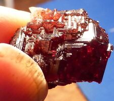 MOST excellent Red etched Granet crystal from China  (13.99 grams)