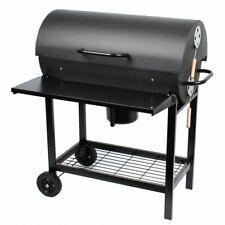 Clictrade Taino Smoker Grill BBQ GRILLWAGEN Holzkohle Grill Standgrill + Ablage