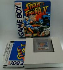 Street Fighter II 2 for Nintendo Game Boy BOXED with PROTECTOR