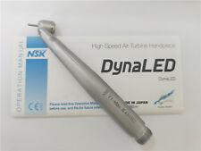 NSK Ti-MAX X450 LED 45 Degree Dental High Speed Handpiece B2 2 holes with Light