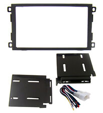 Radio Replacement Dash Mount Install Kit Double-DIN w/Harness for Suzuki