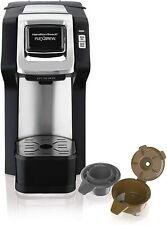 Hamilton Beach 49979 Single Serve Coffee Maker Compatible w/ Pod Packs & Ground