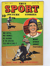 True Sport Picture Stories V4 #9 Street and Smith 1948