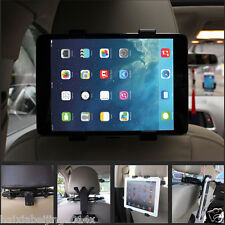 Car Back Seat Ratating Bracket Headrest Mount Holder For iPad Air Tablet Galaxy