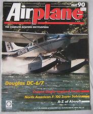 Airplane Issue 90 Douglas DC-6/7, North American F-100 Super Sabre, Cessna