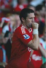 Robbie KEANE SIGNED COA Autograph 12x8 Photo AFTAL Liverpool ROI LA Galaxy