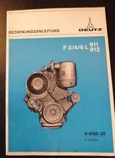 Deutz Motoren FL911-912 (3-6 Z)  Betriebsanleitung