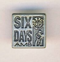 1997 FIM Six Days ENDURO Motorcycle PIN badge ISDE Brescia Italy ISDT