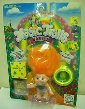 #1493 NRFC Vintage Applause Toys Magic Trolls Babies Samara
