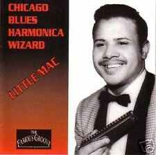 LITTLE MAC - Chicago Blues Harmonica Wizard! CD