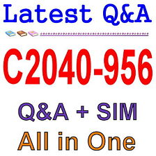 IBM Lotus Notes Domino 8.5 System Admin Update C2040-956 Exam Q&A PDF+SIM