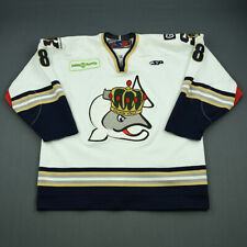 2006-07 Seamus Young Victoria Salmon Kings Game Used Worn ECHL Hockey Jersey!
