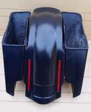 "HARLEY DAVIDSON 6""SADDLEBAGS AND REAR LED LIGHT FENDER INCLUDED TOURING 95-2013"