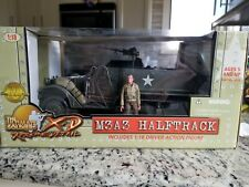 NEW Ultimate Soldier 1/18 WW2 M3A3 Halftrack 21st Century Toys