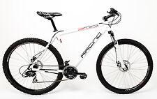 "28"" Zoll MTB Alu Cross Fahrrad  MIFA Mountainbike Shimano Scheibenbremsen weiss"