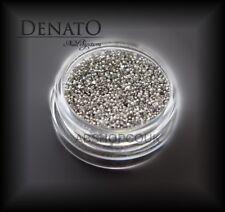 Caviar DELUX Smokey Gray 2g Extra Fine UV LED Nail Art Glitter Manicure Denato