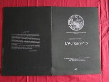 N° 2094 E / Serigrafia impressa da Fernando di Nicola L'AURIGA VINTO n°81/100