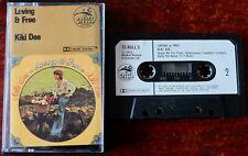 KIKI DEE LOVING & FREE CASSETTE ALBUM ROCKET (1973) UK TESTED POP SOUL