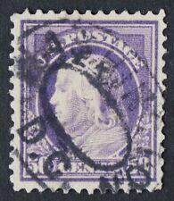 U.S. Used #422 12c Franklin, XF - Superb. Washington, DC Cancel. Gem! Scott: $25