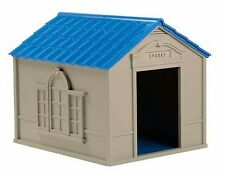 Large Outdoor Dog House Xxl Pet Kennel Durable Weather Shelter Big Dogs Houses