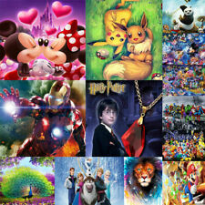 5D Diamond Painting Full Drill Embroidery Cross Craft Stitch Arts Mural Cartoon