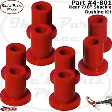 "Prothane 4-801 Shackle Bushing Kit 7/8"" Rear Spring 60-76 Dodge/Plymouth A-Body"